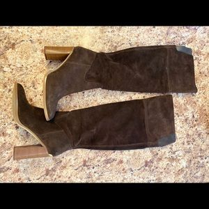 MICHAEL by Michael Kors Suede Thigh High Boots